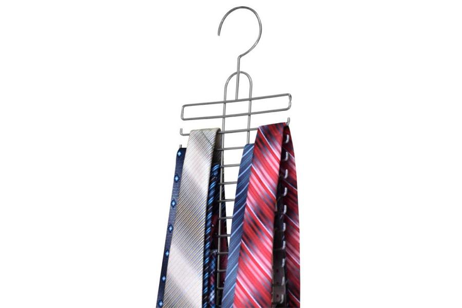 Wieszak na krawaty i paski