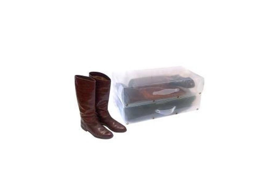Коробка для дамскoй обуви с ручкой