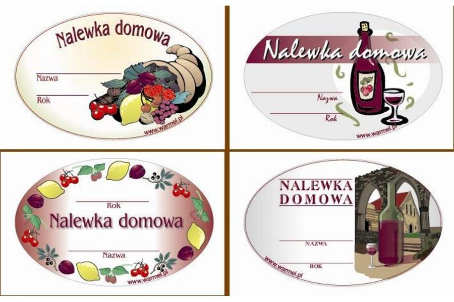 Etykiety NALEWKI