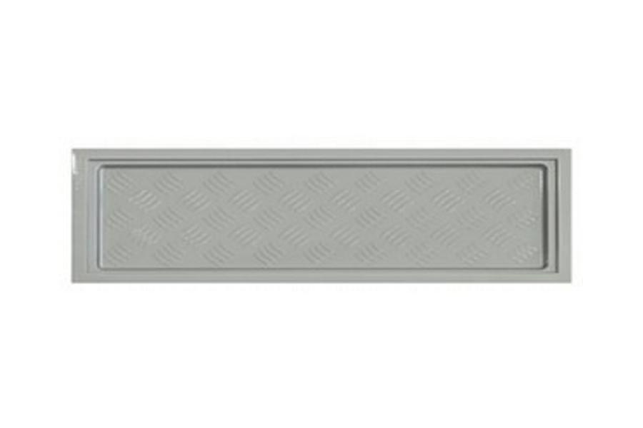 Korytko do suszarek 800 - 745 x 235 mm, miękke, srebrne