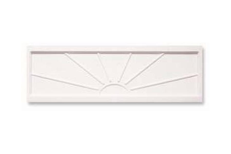Korytko do suszarek 520/rozm.524x295mm - twarde, białe