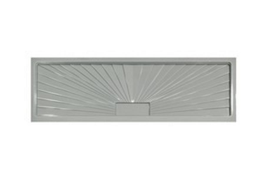 Korytko do suszarek samoociekające 800 twarde, srebrne