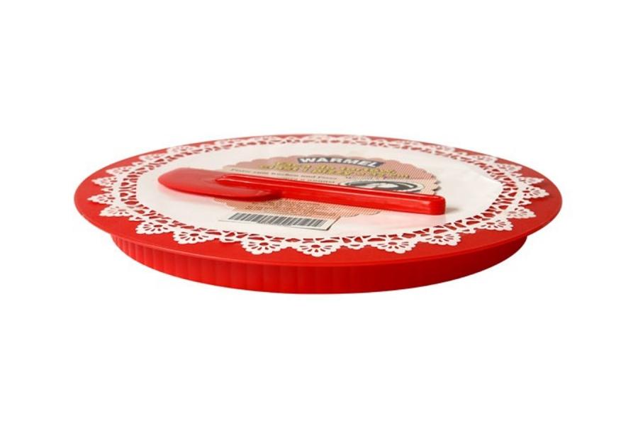 Подставка для торта и пиццы Ø 320 мм c лопаткой для торта